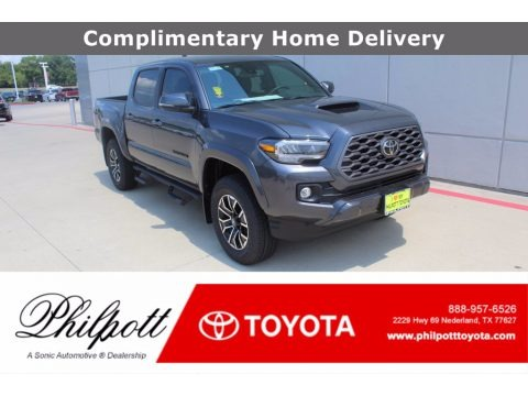 Magnetic Gray Metallic 2020 Toyota Tacoma TRD Sport Double Cab