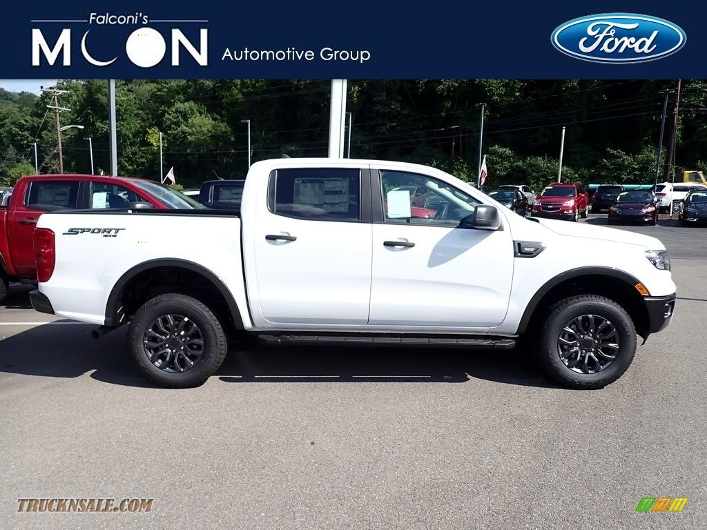 2020 Ranger XLT SuperCrew 4x4 - Oxford White / Ebony photo #1