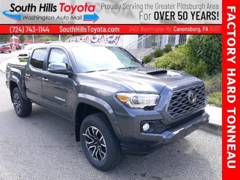 Magnetic Gray Metallic 2020 Toyota Tacoma TRD Sport Double Cab 4x4