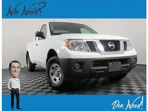 Glacier White 2019 Nissan Frontier S King Cab