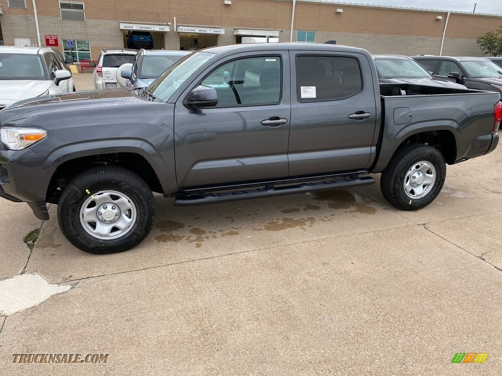2020 Tacoma SR Double Cab 4x4 - Magnetic Gray Metallic / Cement photo #1