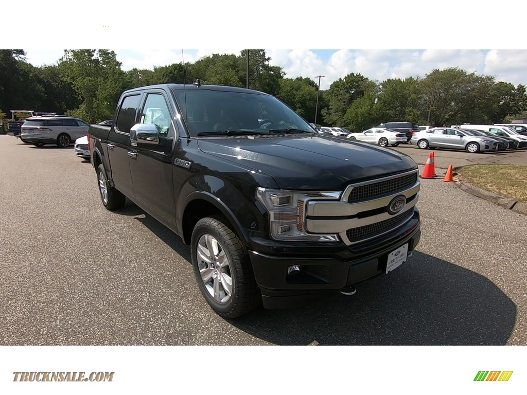 2020 F150 Platinum SuperCrew 4x4 - Agate Black / Black photo #1