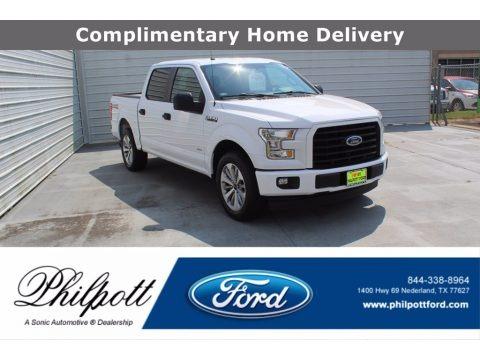 Oxford White 2017 Ford F150 XL SuperCrew
