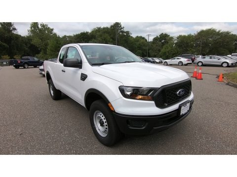 Oxford White 2020 Ford Ranger XL SuperCab