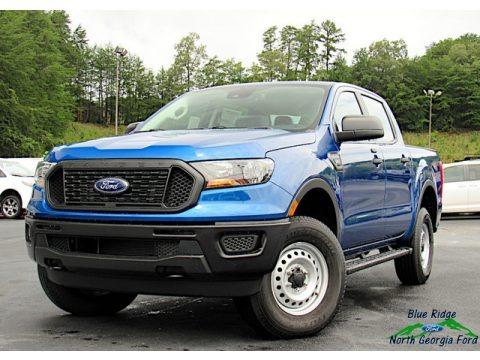Lightning Blue 2020 Ford Ranger XL SuperCrew 4x4