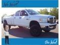 Dodge Ram 3500 SLT Quad Cab 4x4 Dually Bright White photo #1