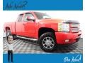 Chevrolet Silverado 1500 LT Extended Cab 4x4 Victory Red photo #1