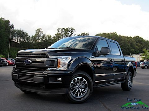 Agate Black 2020 Ford F150 XLT SuperCrew 4x4