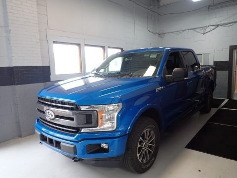 Velocity Blue 2019 Ford F150 XLT SuperCrew 4x4