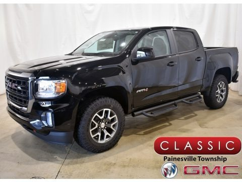 Onyx Black 2021 GMC Canyon AT4 Crew Cab 4WD