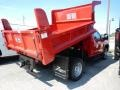 Chevrolet Silverado 3500HD Work Truck Regular Cab 4x4 Dump Truck Red Hot photo #4
