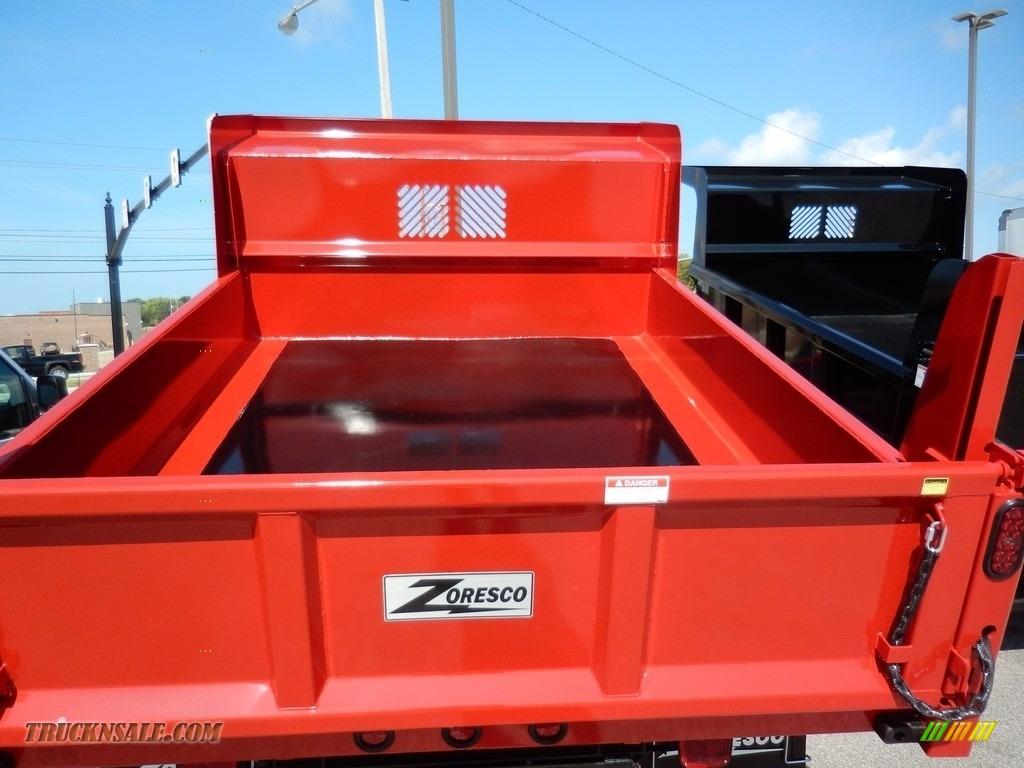 2020 Silverado 3500HD Work Truck Regular Cab 4x4 Dump Truck - Red Hot / Jet Black photo #6
