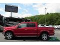 Ford F150 XLT SuperCrew 4x4 Ruby Red photo #2