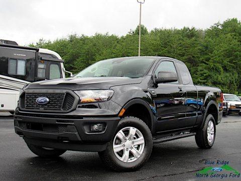 Shadow Black 2020 Ford Ranger XL SuperCab 4x4