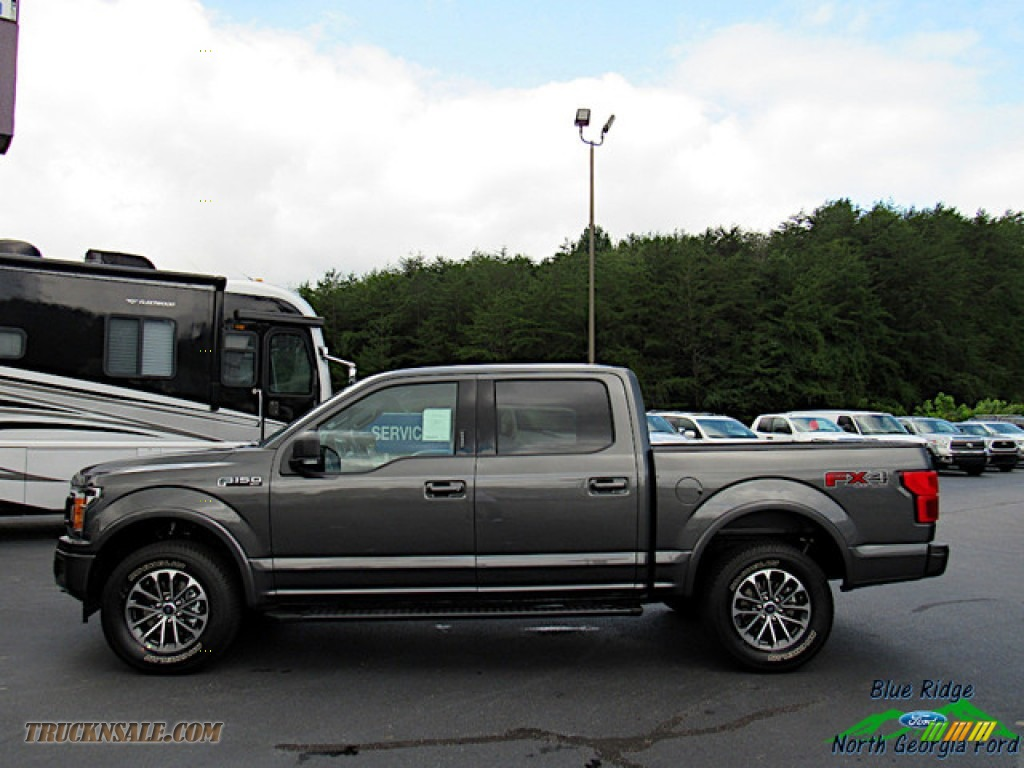 2020 F150 XLT SuperCrew 4x4 - Magnetic / Black photo #2
