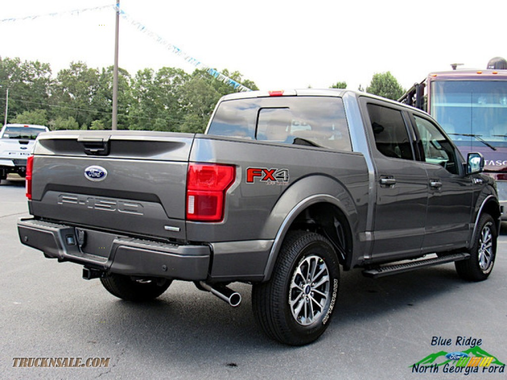 2020 F150 XLT SuperCrew 4x4 - Magnetic / Black photo #5