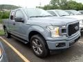 Ford F150 STX SuperCab 4x4 Abyss Gray photo #4