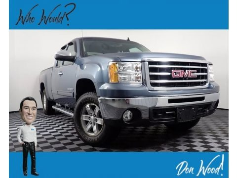 Stealth Gray Metallic 2012 GMC Sierra 1500 SLE Extended Cab 4x4
