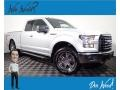 Ford F150 XLT SuperCab 4x4 Ingot Silver Metallic photo #1