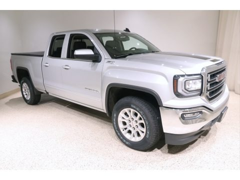 Quicksilver Metallic 2017 GMC Sierra 1500 SLE Double Cab 4WD