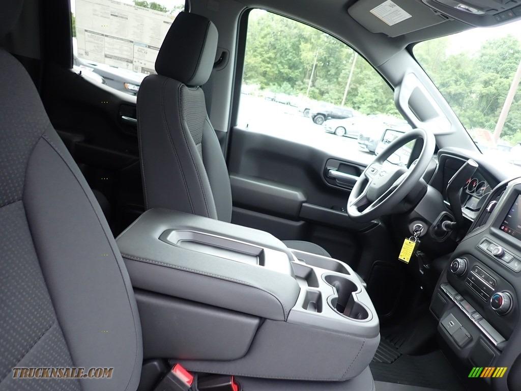 2020 Silverado 1500 Custom Trail Boss Double Cab 4x4 - Satin Steel Metallic / Jet Black photo #10