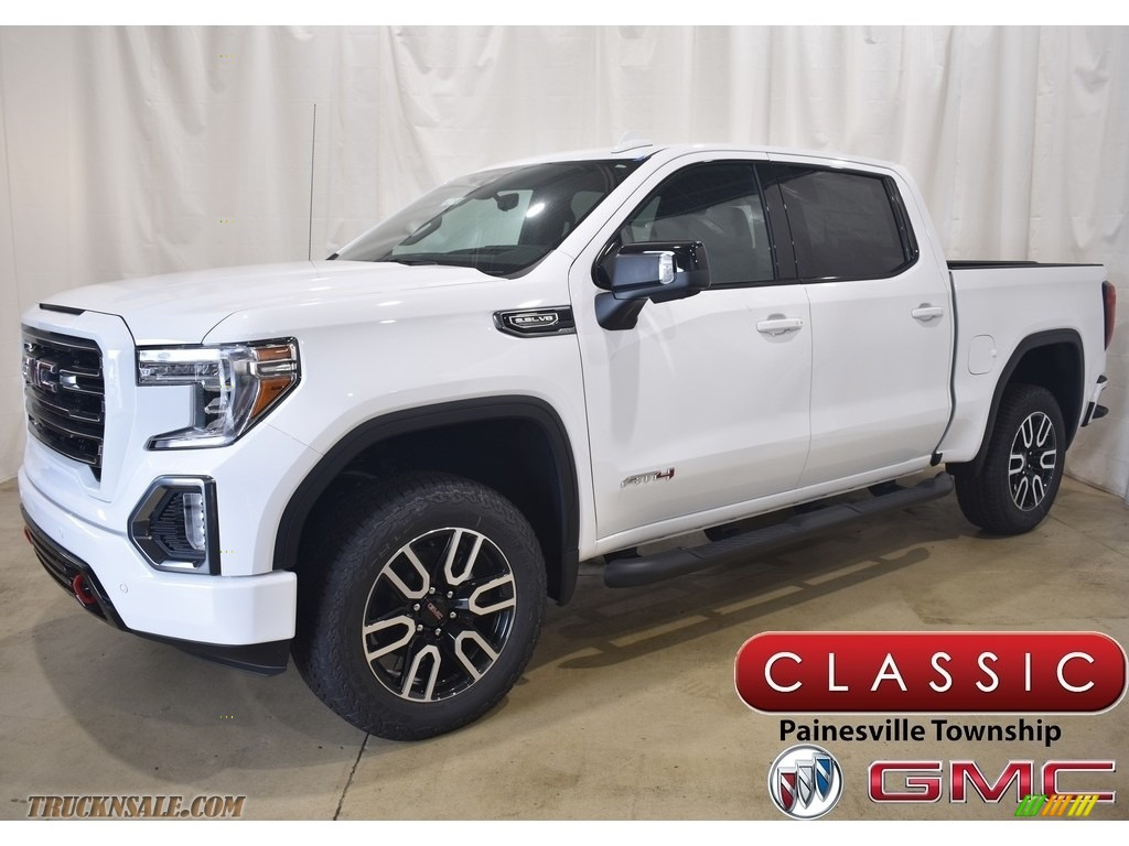 2020 Sierra 1500 AT4 Crew Cab 4WD - Summit White / Jet Black photo #1