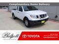 Nissan Frontier S King Cab Glacier White photo #1
