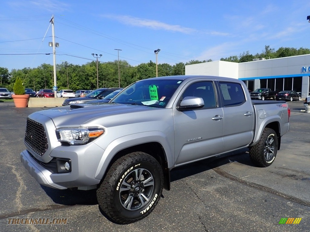 2017 Tacoma TRD Sport Double Cab 4x4 - Silver Sky Metallic / TRD Graphite photo #1