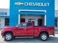 Chevrolet Colorado WT Extended Cab Cherry Red Tintcoat photo #1