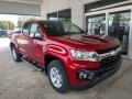 Chevrolet Colorado WT Extended Cab Cherry Red Tintcoat photo #2