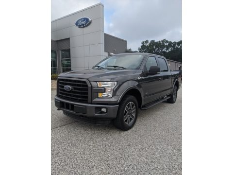 Magnetic Metallic 2015 Ford F150 XLT SuperCrew 4x4