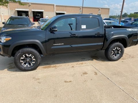 Midnight Black Metallic 2020 Toyota Tacoma TRD Off Road Double Cab 4x4