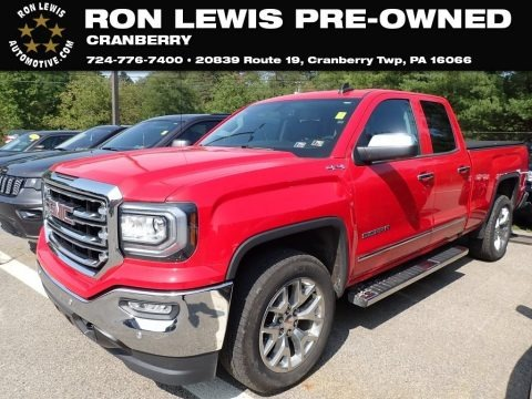 Cardinal Red 2017 GMC Sierra 1500 SLT Double Cab 4WD
