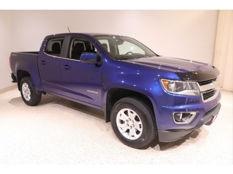 Laser Blue Metallic 2017 Chevrolet Colorado LT Crew Cab 4x4