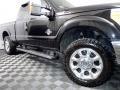 Ford F250 Super Duty XLT SuperCab 4x4 Tuxedo Black Metallic photo #3