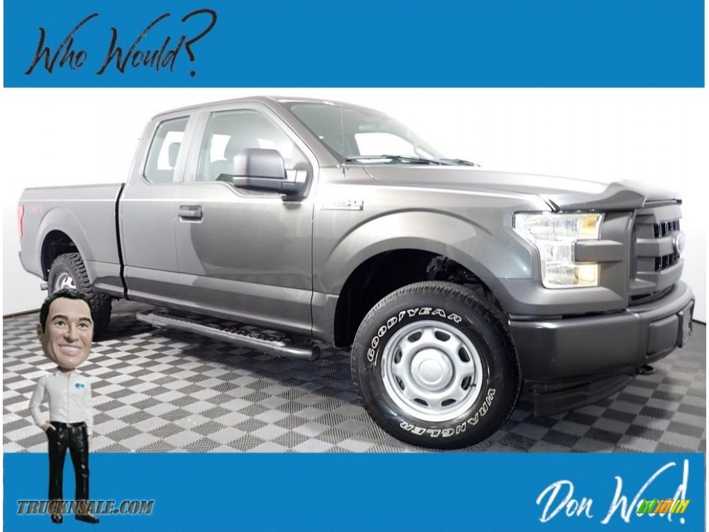2017 F150 XL SuperCab 4x4 - Magnetic / Earth Gray photo #1
