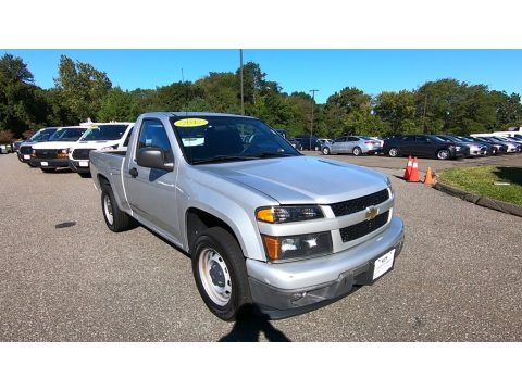 Sheer Silver Metallic 2012 Chevrolet Colorado Work Truck Regular Cab