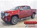 GMC Canyon Denali Crew Cab 4WD Cayenne Red Tintcoat photo #1
