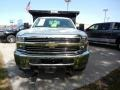 Chevrolet Silverado 3500HD WT Regular Cab 4x4 Dump Truck Summit White photo #2