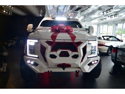 White Platinum 2019 Ford F250 Super Duty Platinum Crew Cab 4x4