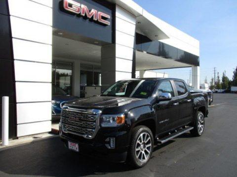 Onyx Black 2021 GMC Canyon Denali Crew Cab 4WD