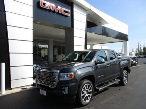 Hunter Metallic 2021 GMC Canyon Denali Crew Cab 4WD