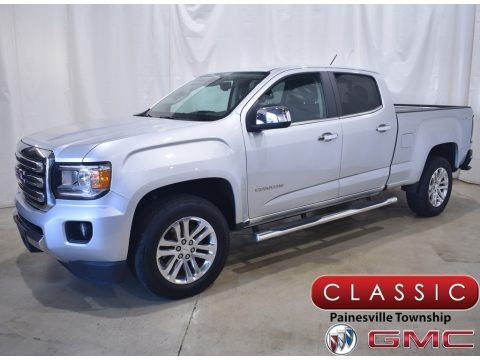 Quicksilver Metallic 2017 GMC Canyon SLT Crew Cab 4x4
