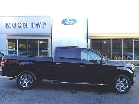 Agate Black 2019 Ford F150 XLT SuperCrew 4x4