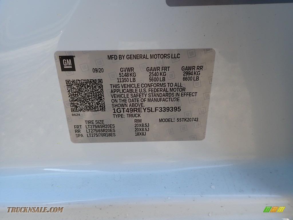 2020 Sierra 2500HD Denali Crew Cab 4WD - Summit White / Jet Black photo #10