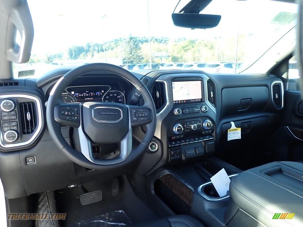 2020 Sierra 2500HD Denali Crew Cab 4WD - Summit White / Jet Black photo #14