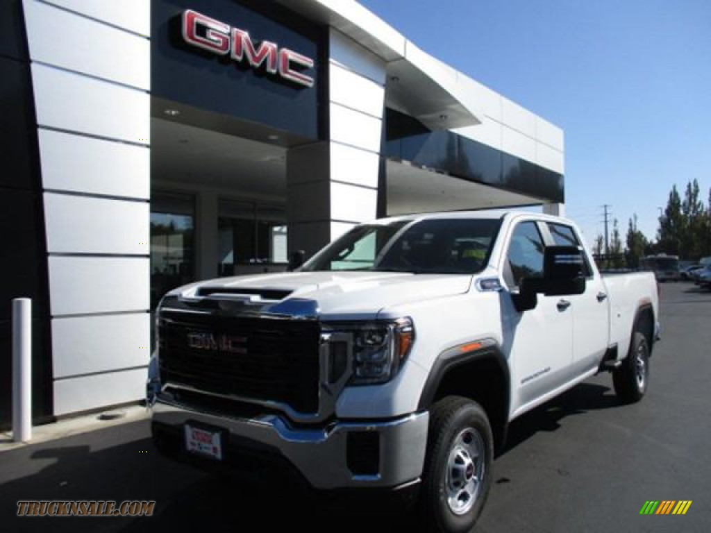 2020 Sierra 2500HD Crew Cab - Summit White / Jet Black photo #1