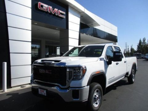 Summit White 2020 GMC Sierra 2500HD Crew Cab
