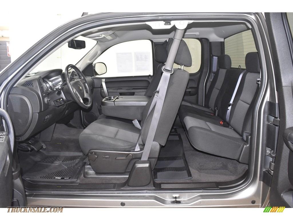 2013 Silverado 1500 LT Extended Cab 4x4 - Graystone Metallic / Ebony photo #7