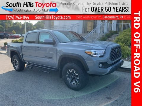 Lunar Rock 2021 Toyota Tacoma TRD Off Road Double Cab 4x4